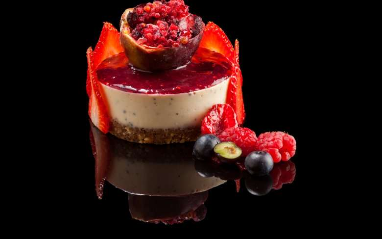 Raw Vegan Cheesecake de Fruit De La Passion